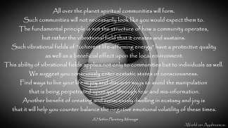 Spiritual Communities