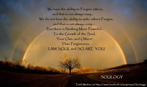 Soulogy - We have the ability to Forgive others