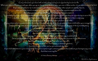 -World on Ayahuasca- In Service