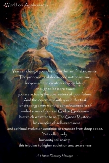 -World on Ayahuasca- Change Destiny